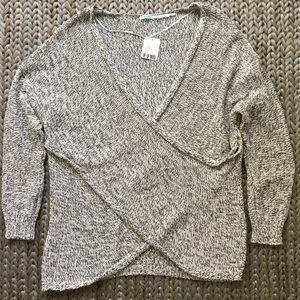 Kimchi Blue Urban Outfitters Knit Wrap Sweater L